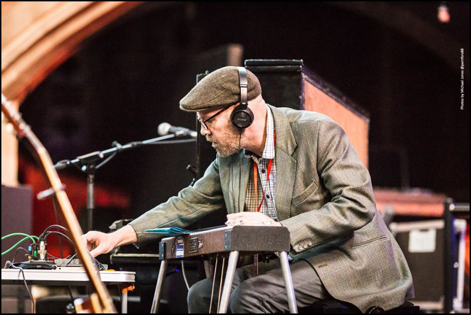 Jack hayter Pedal steel at Union Chapel
